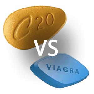 Viagra vs. Cialis