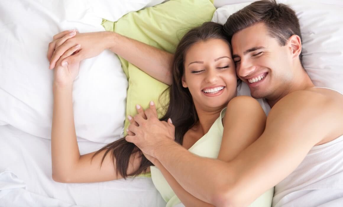 Couple in bedroom generic sildenafil