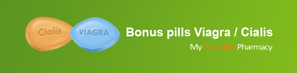 Canadian Pharmacy bonus pills Viagra / Cialis